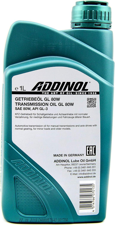 Addinol Mz405 Super Mix 2 Takt Motorenöl Rot Gefärbt Mineralisch 1 L Kanister Küche Haushalt