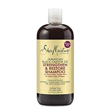 SheaMoisture Jamaican Black Castor Oil Shampoo, 16.3 Ounce