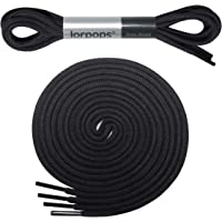 lorpops Thin Round Dress Shoelaces [2 Pairs] 2.4mm Thick