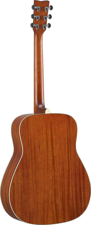 Yamaha FG-TA Transacoustic Guitar w//Chorus and Reverb Brown Sunburst