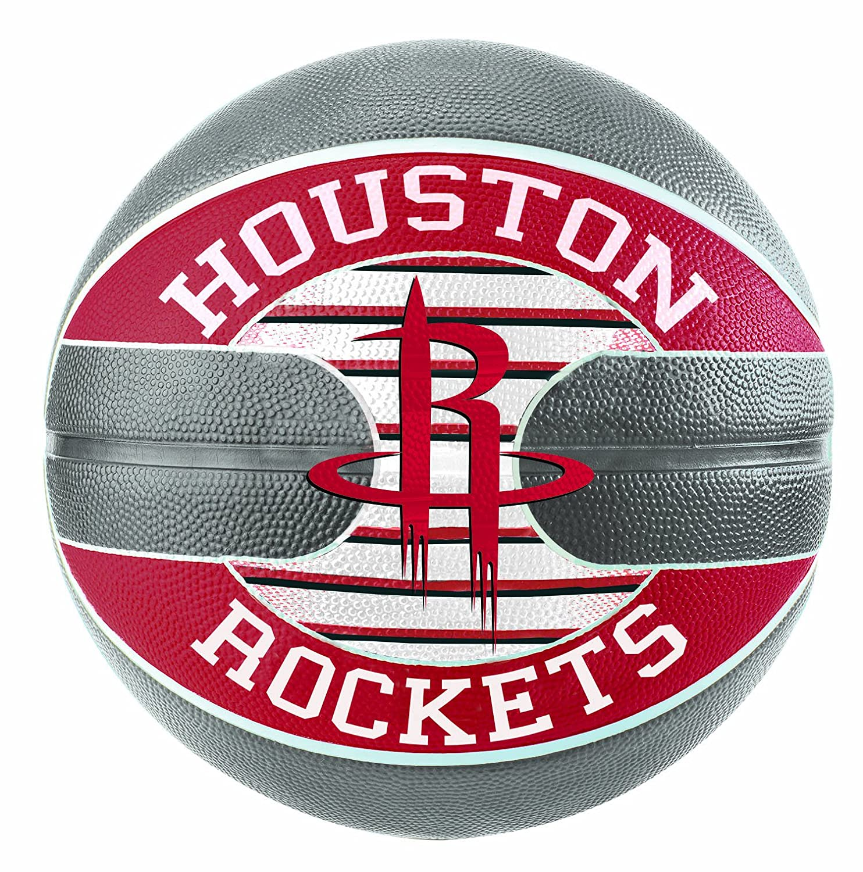 Spalding NBA Team Houston Rockets Sz. 7(83–589z)–Multicolore multicolore 7.0 SPALG|#Spalding 3001587011017