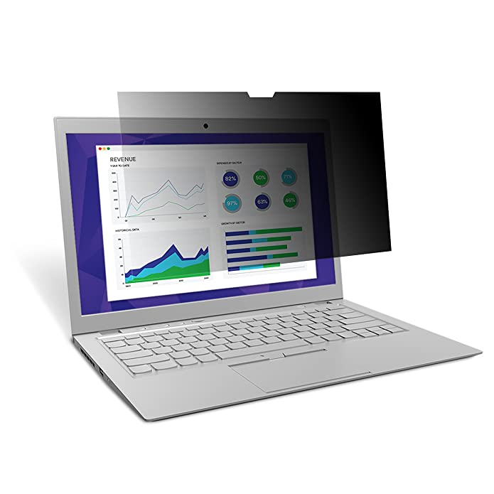 3M PF123C3E Touch Privacy Filter for 12.3 in. Full Screen Laptop with COMPLY Attachment System