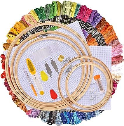 Broderie Point de Croix Set Kit pour débutants-Fait main À faire soi-même Broderie Craft UK