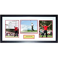 $979 » Tiger Woods Signed Masters 3 8x10 Photo Set - Upper Deck Authenticated UDA COA - Professionally Framed & Greatest of All Time…