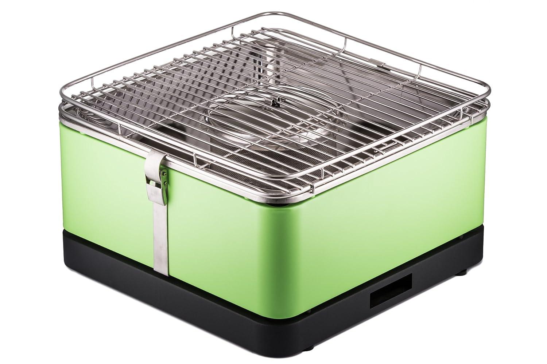 Aobosi Rauchfreier Holzkohlegrill : Stylen cook holzkohlengrill raucharmer bbq grill arizona grün