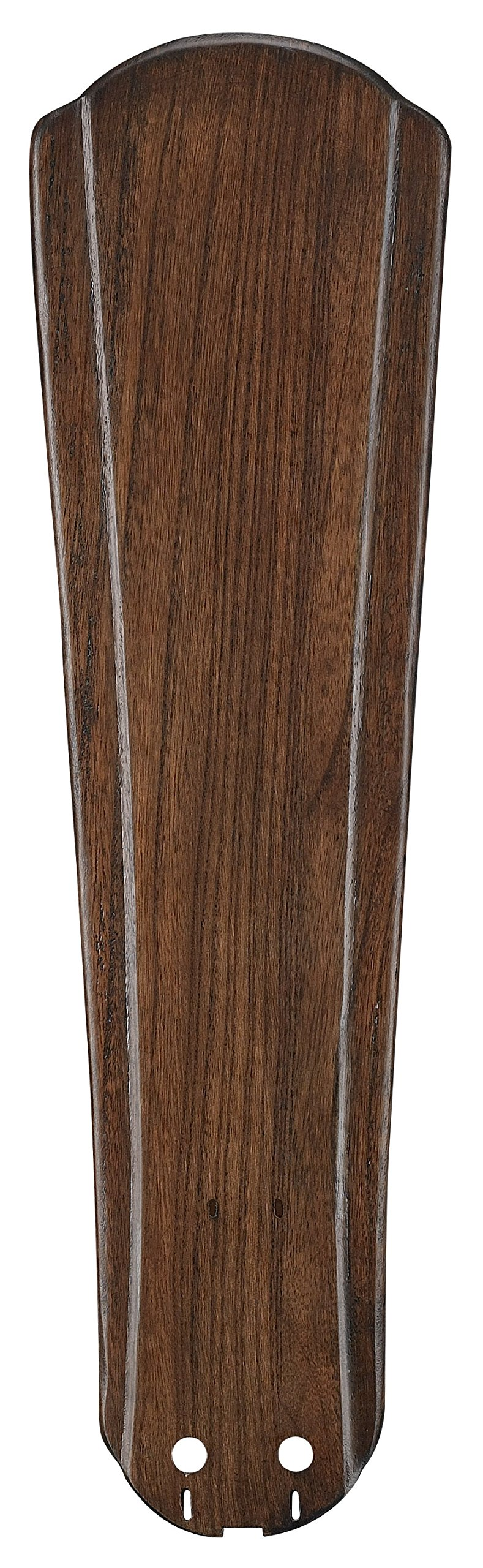 Fanimation B5310WA Raised Contour Carved Wood Blade Set, 22-Inch, Walnut