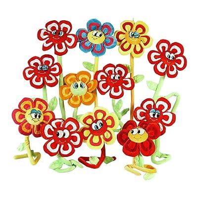 Globo Toys 83271 - Flor peluche, 1 unidad, modelos surtidos: Juguetes y juegos