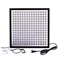 50W LED Grow Light,Upgrade UFO Plant Grow Lights 177 LEDs with Big Chip Grow Lamp Indoor Plants Growing Light Bulbs with Swicth for Germination,Vegetative &Flowering by Niello (50w)