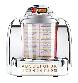 BEAT FOXX Nostalgia de mesa Jukebox (40/50 años Diseño Retro ...