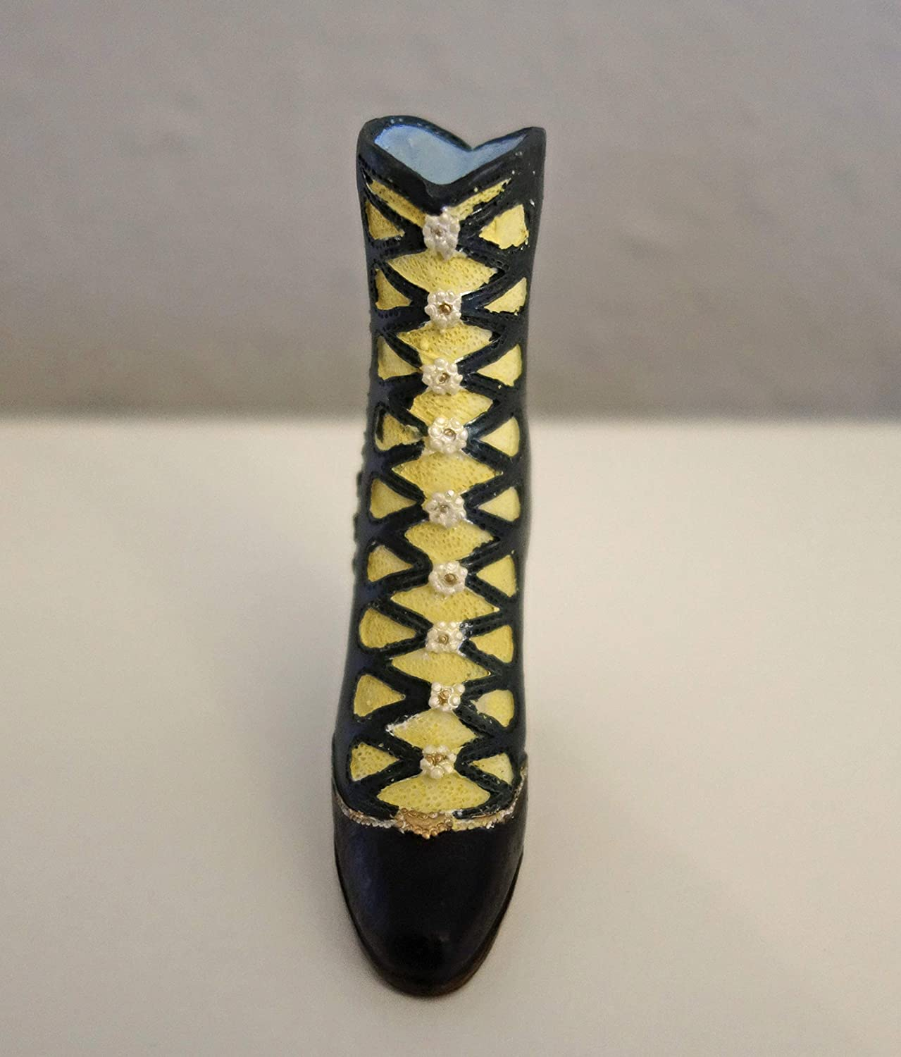 Collectible vintage style decorative miniature boot ornament