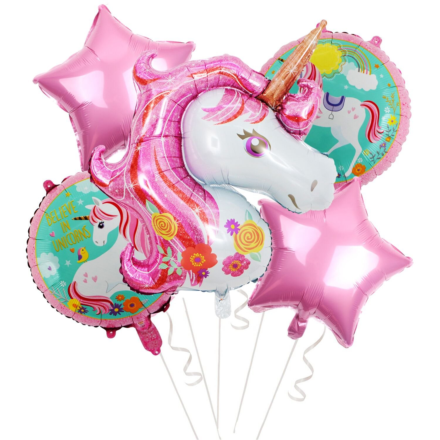 Unicorn Balloons for Birthday Party Decorations Party Supplies Large 41 inch Unicorn Balloon for Party Events MorritoPartySupplies