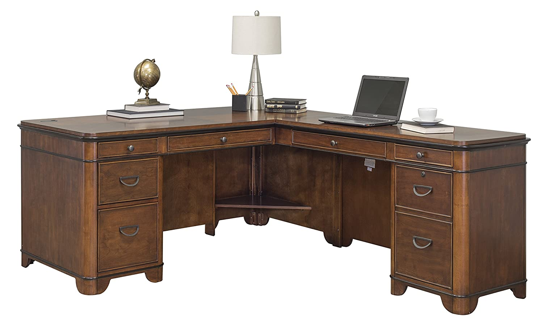 Martin Furniture Kensington L-Shaped Right Computer Desk