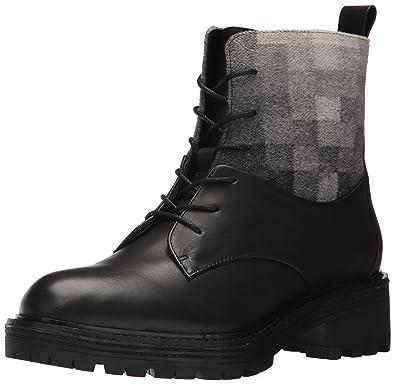 f176e4fd0246d KELSI DAGGER BROOKLYN Women's Midwood Ankle Boot, Black/Mist, 5.5 Medium US