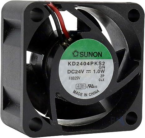 Sunon - Ventilador 40 mm 40 x 40 x 20 KD2404PKS2 24 V DC 0,05A 1 W ...