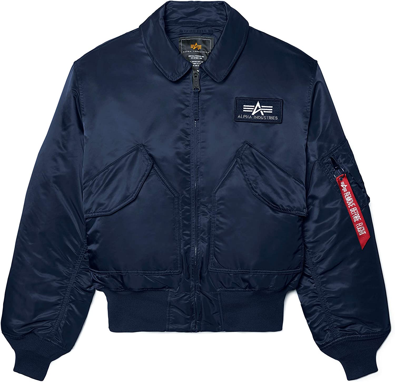 Alpha Industries Men's CWU 45/P Flight Jacket: Clothing