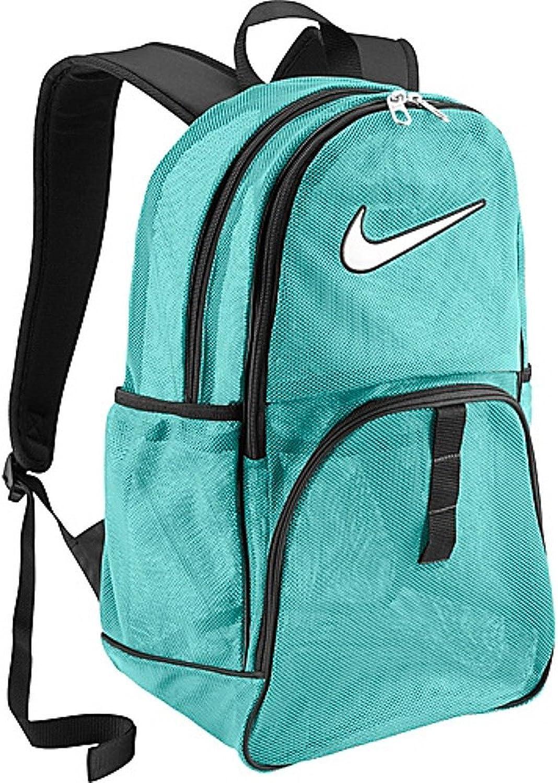 mayor selección estética de lujo Reino Unido Amazon.com: Nike Brasilia 6 Mesh Backpack-Teal: Clothing