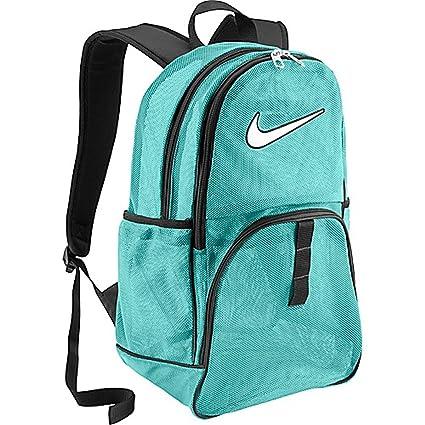 Amazon.com  Nike Brasilia 6 Large Mesh Backpack Aqua  Sports   Outdoors
