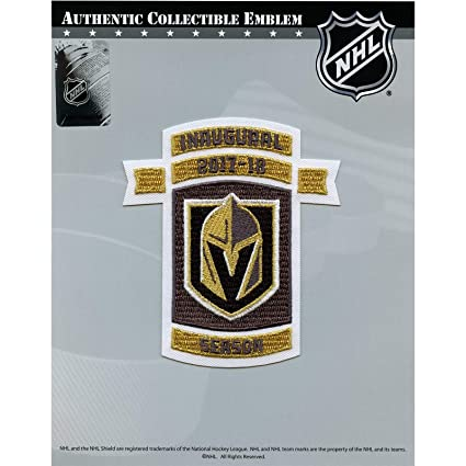 a387b516c0e Amazon.com: 2017 Vegas Golden Knights Inaugural NHL Season Embroidered Jersey  Patch: Arts, Crafts & Sewing