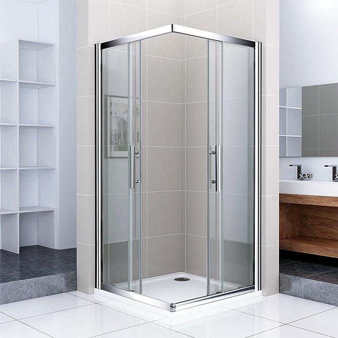 140 x 100 x 185 cm cabinas de ducha esquina. Puerta de ducha ...