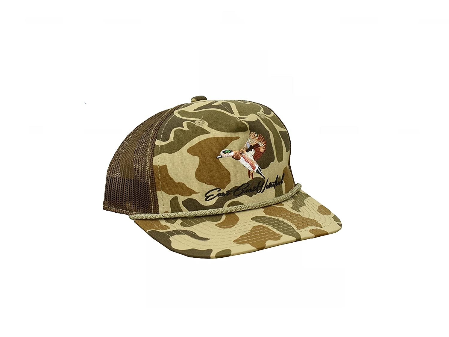 623a9a160 Amazon.com: Hunting and Fishing Depot Old School Camo Wigeon Trucker ...