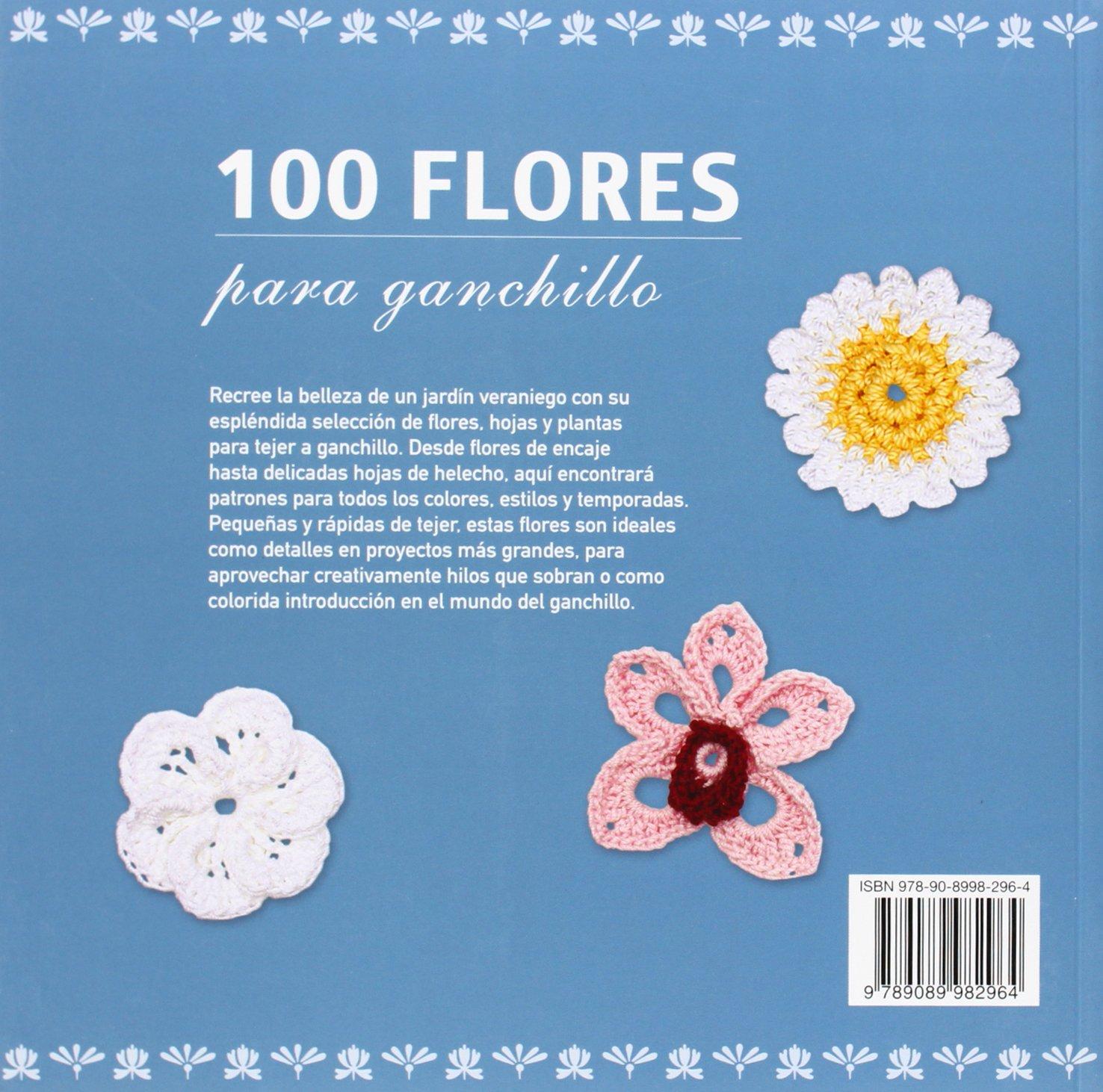 100 Flores para ganchillo: Amazon.es: Caitlin Saitnio: Libros