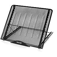 AGPTEK Large Version Stand Ventilated Adjustable Light Box Laptop Pad Stand, Multifunction(12 Angles) Skidding Prevented…