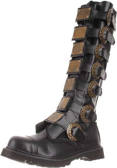 932044b3669 Pleaser Men s Steam-30 B LE Knee-High Boot