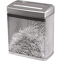 Hama kağıt öğütücü zu 7sayfaya kadar (çapraz kesim, Shredder kağıt ve Plastikkarten, için 14-litre-metal sepet, koruma sınıfı P-4/güvenlik kademesi 2DIN 66399) kağıt-öğütücüler Gümüş