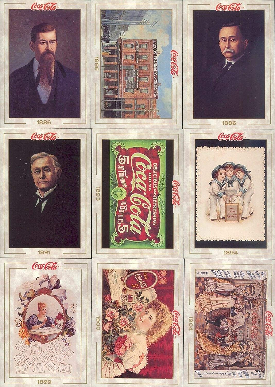 Collect-A-Card COCA COLA Series 1+2 1993 to 1994 Single Cards #1 to 200