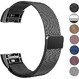 Fitbit Charge 2 Cinturino, Swees chiusura magnetica Milanese Loop in acciaio inox cinturino bracciale per Fitbit Charge 2