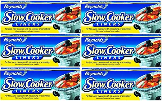 Reynolds Slow Cooker Liners Pack of 6 4-Count
