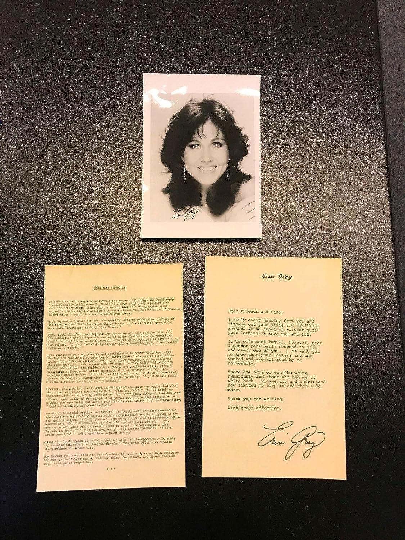 Amazon com: Vintage 1960's Erin Gray Signed Original Studio