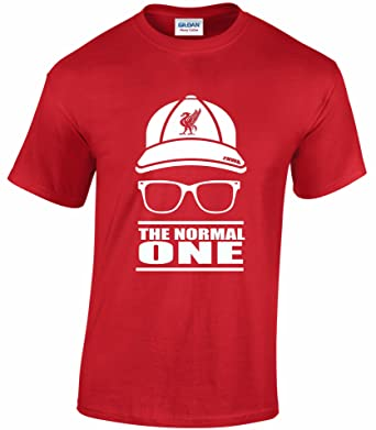 0da7ba3fdc2 Jurgen Klopp The normal one cap   glasses unisex football t shirt free P P  (S