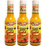 Jamaican Yellow Crushed Scotch Bonnet Peppers 5oz (Pack of 3)