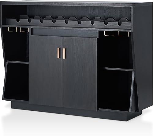 Modern Transitional Multi Storage Dining Buffet