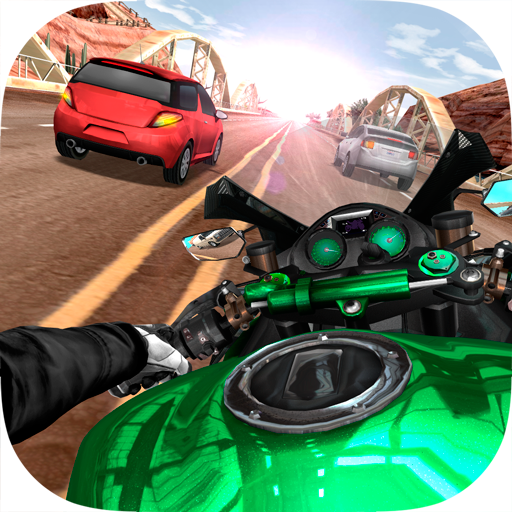 Moto Rider In Traffic (Best Games For Moto G)