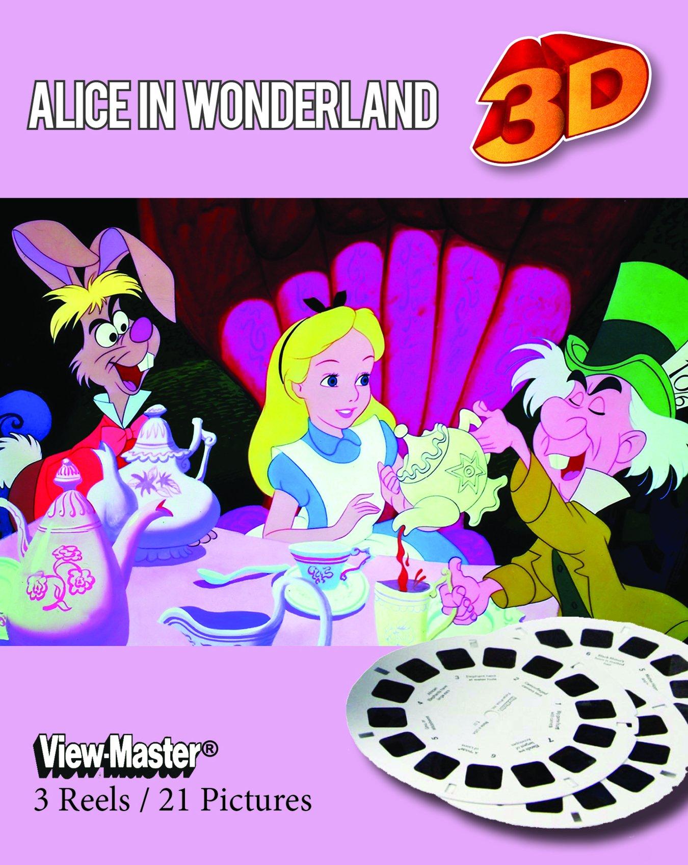 View-Master Classic 3Reel Set Alice in Wonderland