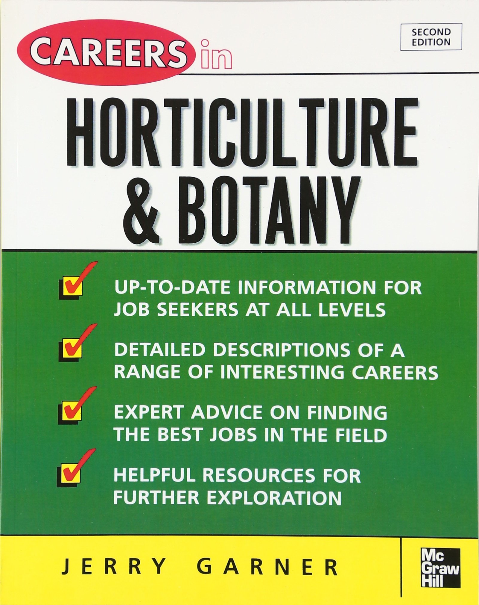 careers in horticulture and botany careers in acirc brvbar series jerry careers in horticulture and botany careers inacirc brvbar series jerry garner 9780071467735 com books
