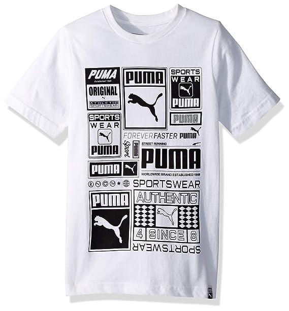 7c4f27526330 Amazon.com: PUMA Big Boys' T-Shirt: Clothing