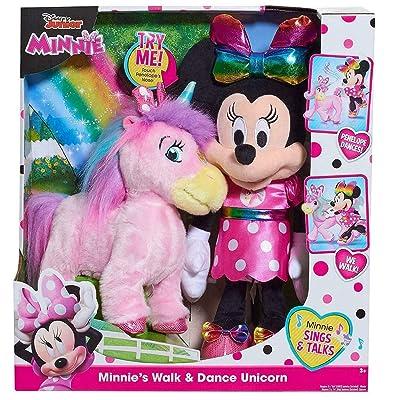 Plush Disney Junior Minnie's Walk & Dance Unicorn: Toys & Games