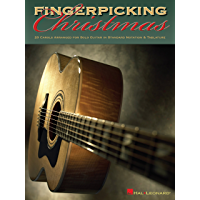 Fingerpicking Christmas: 20 Carols Arranged for Solo Guitar in Notes & Tablature book cover