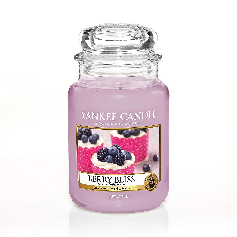 Berry Bliss Candela profumata in Barattolo Grande YANKEE CANDLE fragranza