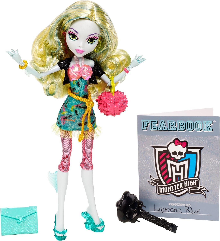 Amazon.es: Monster High - Muñeca Lagoona Picture Day (Mattel BMK46): Juguetes y juegos
