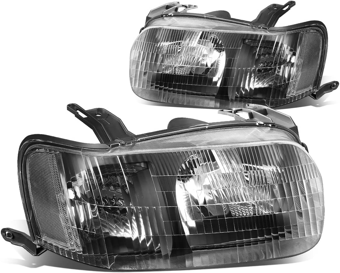 Headlights Headlamps Left /& Right Pair Set NEW for 01-04 Ford Escape