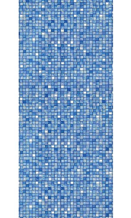 Amazon.com : Smartline 21-Foot Round Blue Cube Tile Liner ...