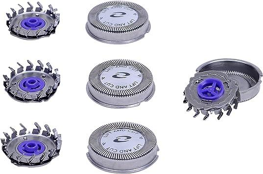 3 x Cabezales de Repuesto para Afeitadoras Eléctricas Hoja de ...