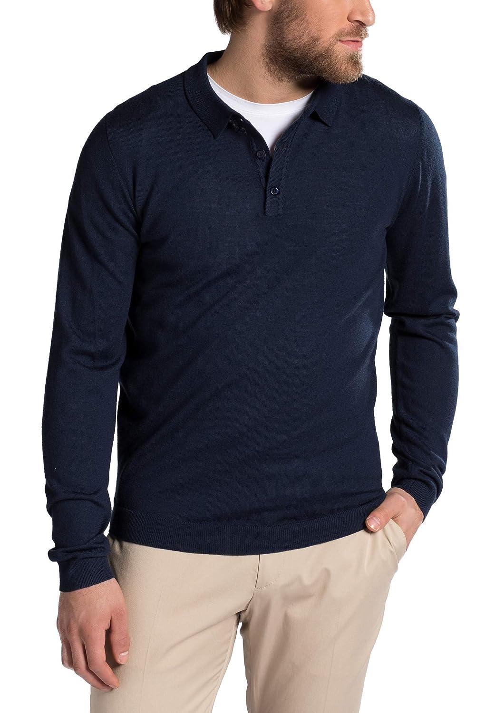 Eterna Knit Sweater with Polo Neck Uni: Amazon.es: Ropa y accesorios