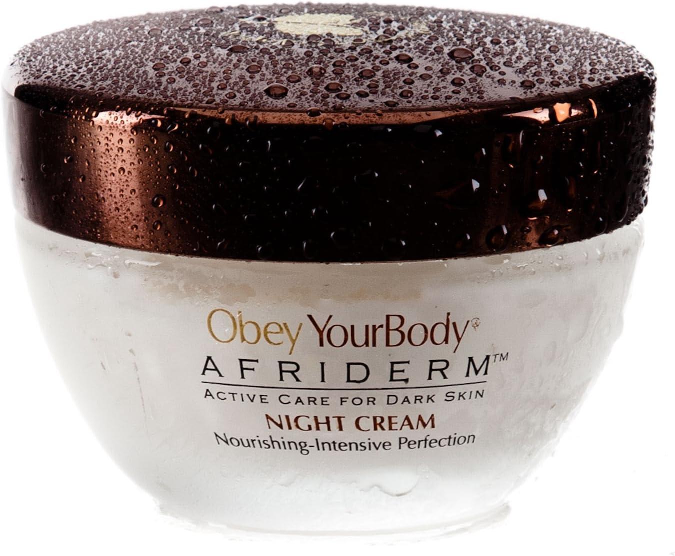 Obey Your Body Crema De Noche Afriderm: Amazon.es: Belleza