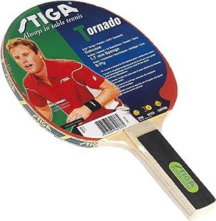 Stiga 182137 Tornado Raquette de tennis de table Poignée droite Rouge