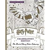 Harry Potter Celebratory Ed Colouring Bk